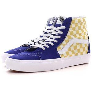 Vans •Kids Checkered SK8 Hi Tops